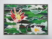 Waterlilies Collage